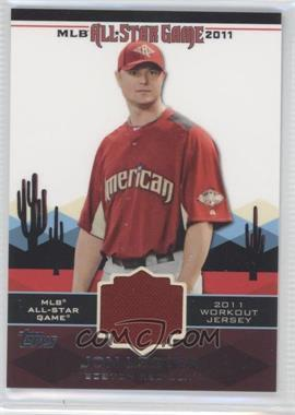2011 Topps All-Star Stitches #AS-67 - Jon Lester