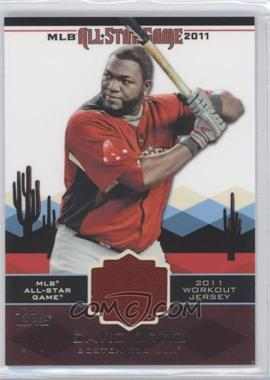 2011 Topps All-Star Stitches #AS-7 - David Ortiz