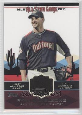 2011 Topps All-Star Stitches #AS-72 - Ryan Vogelsong