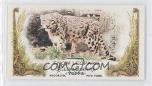 2011 Topps Allen & Ginter's - Animals in Peril Minis #AP12 - Snow Leopard