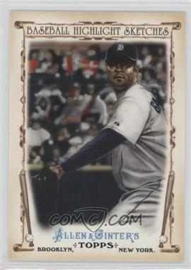 2011 Topps Allen & Ginter's - Baseball Highlight Sketches #BHS-12 - Armando Galarraga