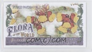 2011 Topps Allen & Ginter's - Flora of the World Minis #FOW-2 - Spurred Snapdragon