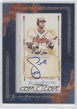 2011 Topps Allen & Ginter's - Framed Mini Autographs #AGA-JH - Jason Heyward