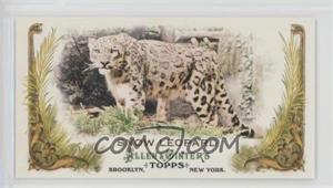 2011 Topps Allen & Ginter's Animals in Peril Minis #AP12 - Snow Leopard