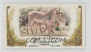 2011 Topps Allen & Ginter's Animals in Peril Minis #AP18 - Grevy's Zebra
