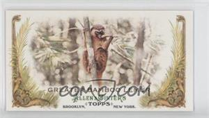 2011 Topps Allen & Ginter's Animals in Peril Minis #AP28 - Greater Bamboo Lemur