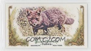 2011 Topps Allen & Ginter's Animals in Peril Minis #AP4 - Darwin's Fox