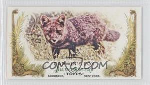 2011 Topps Allen & Ginter's Animals in Peril Minis #AP4 - Darwin's Fox
