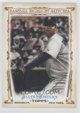 2011 Topps Allen & Ginter's Baseball Highlight Sketches #BHS-12 - Armando Galarraga