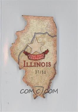 2011 Topps Allen & Ginter's Box Loader U.S. Oversized Relic Cabinet #AGUS-IL - Illinois /50
