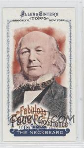 2011 Topps Allen & Ginter's Fabulous Face Flocculence Minis #FFF6 - [Missing]