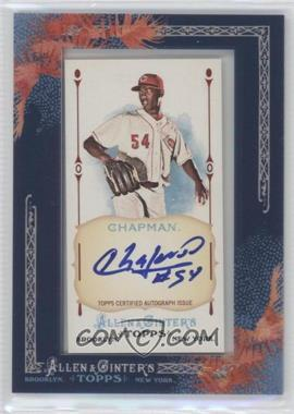 2011 Topps Allen & Ginter's Framed Mini Autographs [Autographed] #AGA-AC - Aroldis Chapman