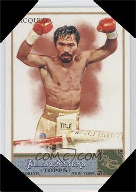 2011 Topps Allen & Ginter's Ginter Code Puzzle Border #262 - Manny Pacquiao