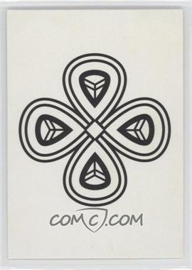 2011 Topps Allen & Ginter's Ginter Code Puzzle Ciphers #NoN - Four Black Dots, Two White Dots