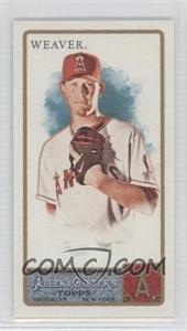 2011 Topps Allen & Ginter's Mini Allen & Ginter Back #196 - Jered Weaver