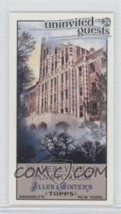 2011 Topps Allen & Ginter's Uninvited Guests Minis #UG3 - [Missing]