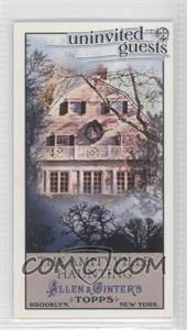 2011 Topps Allen & Ginter's Uninvited Guests Minis #UG5 - [Missing]