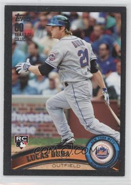 2011 Topps Black 60 Years of Collecting #129 - Lucas Duda /60