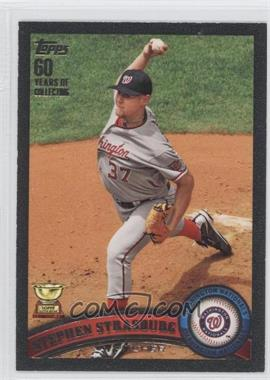 2011 Topps Black 60 Years of Collecting #183 - Stephen Strasburg /60