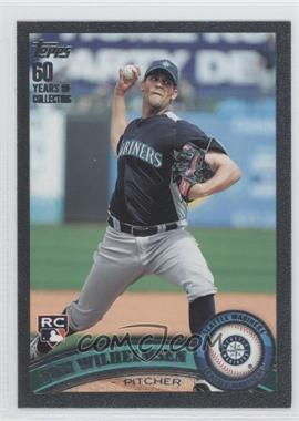 2011 Topps Black 60 Years of Collecting #333 - Tom Wilhelmsen /60