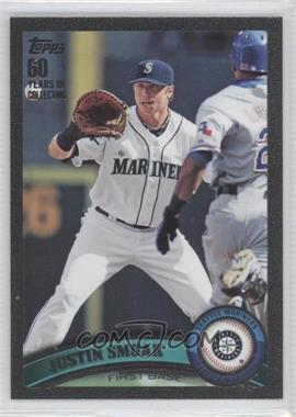 2011 Topps Black 60 Years of Collecting #483 - Justin Smoak /60