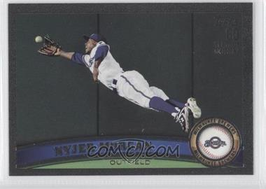 2011 Topps Black 60 Years of Collecting #573 - Nyjer Morgan /60