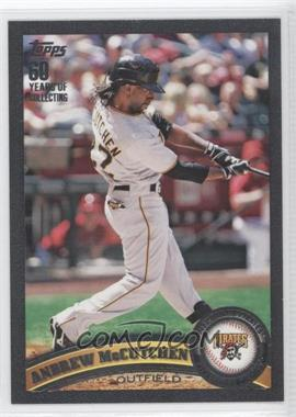 2011 Topps Black 60 Years of Collecting #60 - Andrew McCutchen /60