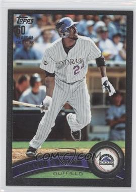 2011 Topps Black 60 Years of Collecting #613 - Dexter Fowler /60