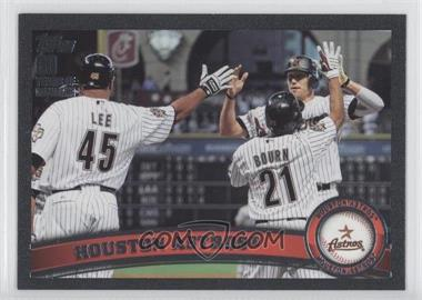 2011 Topps Black 60 Years of Collecting #631 - Houston Astros Team /60