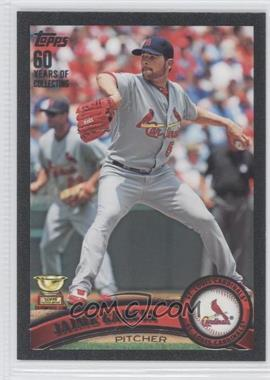 2011 Topps Black 60 Years of Collecting #643 - Jaime Garcia /60