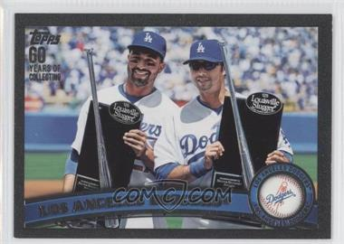 2011 Topps Black 60 Years of Collecting #646 - Los Angeles Dodgers Team /60