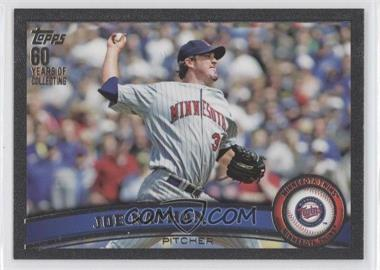 2011 Topps Black #366 - Joe Nathan /60