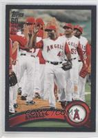 Los Angeles Angels Team /60