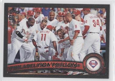 2011 Topps Black #511 - Philadelphia Phillies Team /60