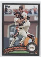 Buster Posey, Brian Wilson /60
