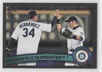 Seattle Mariners (Felix Hernandez, Ichiro Suzuki) /60