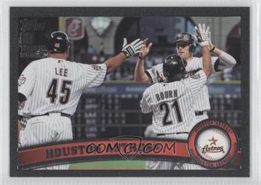 2011 Topps Black #631 - Houston Astros Team /60