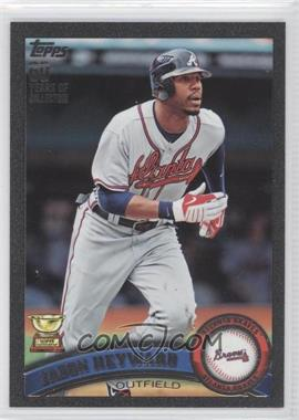 2011 Topps Black #635 - Jason Heyward /60