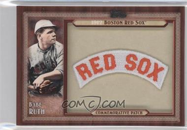 2011 Topps Blaster Box Throwback Manufactured Patch #TLMP-BR - Babe Ruth
