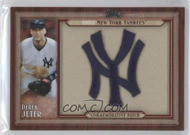 2011 Topps Blaster Box Throwback Manufactured Patch #TLMP-DJ - Derek Jeter