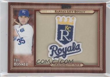 2011 Topps Blaster Box Throwback Manufactured Patch #TLMP-EH - Eric Hosmer