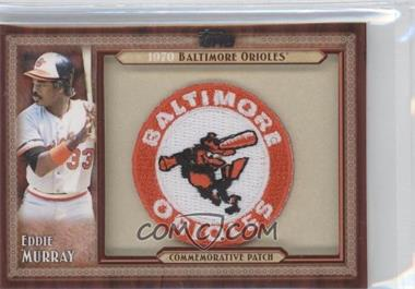 2011 Topps Blaster Box Throwback Manufactured Patch #TLMP-EM - Eddie Murray