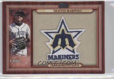 2011 Topps Blaster Box Throwback Manufactured Patch #TLMP-ISU - Ichiro Suzuki