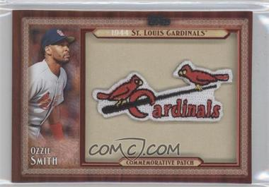 2011 Topps Blaster Box Throwback Manufactured Patch #TLMP-OS - Ozzie Smith