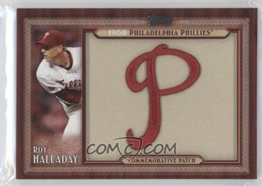 2011 Topps Blaster Box Throwback Manufactured Patch #TLMP-RH - Roy Halladay