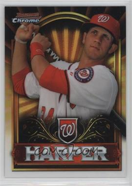 2011 Topps Bowman Chrome Exclusive - [Base] - Topps Value Box Gold #BCE1 - Bryce Harper