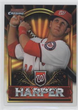 2011 Topps Bowman Chrome Exclusive Topps Value Box Gold #BCE1 - Bryce Harper
