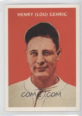 2011 Topps CMG Worldwide Vintage Reprints #CMGR-20 - Lou Gehrig