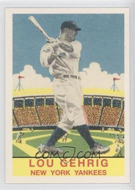 2011 Topps CMG Worldwide Vintage Reprints #CMGR-21 - Lou Gehrig