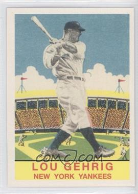 2011 Topps CMG Worldwide Vintage Reprints #CMGR-21 - Lou Gehrig